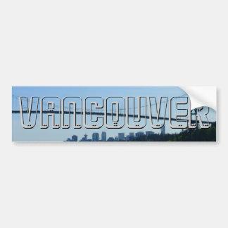Vancouver Bumper Sticker Lions Gate Souvenirs