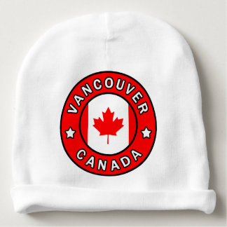 Vancouver Canada Baby Beanie