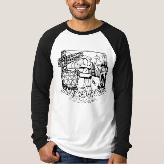 Vancouver Canada Landmark Vancouver Jersey Shirt