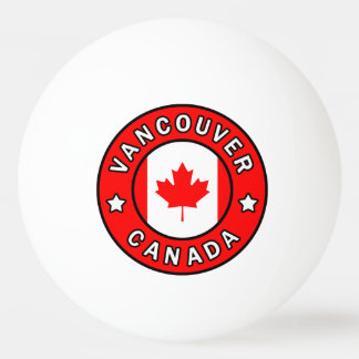 Vancouver Canada Ping Pong Ball