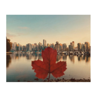Vancouver Canada Red Maple Wall Art