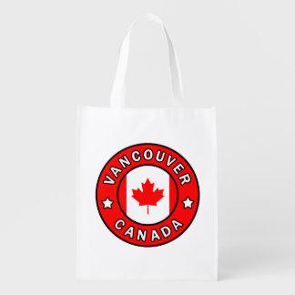 Vancouver Canada Reusable Grocery Bag