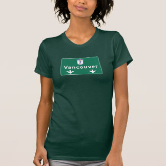 Vancouver, Canada Road Sign T-Shirt