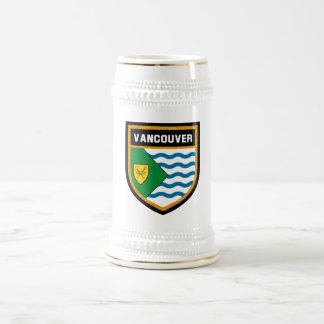 Vancouver Flag Beer Stein