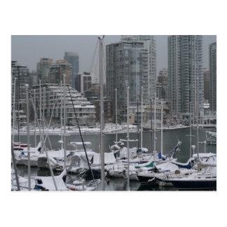 Vancouver Harbour Postcard