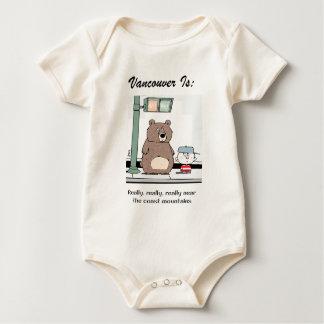 Vancouver Is: c - by harrop Baby Bodysuit
