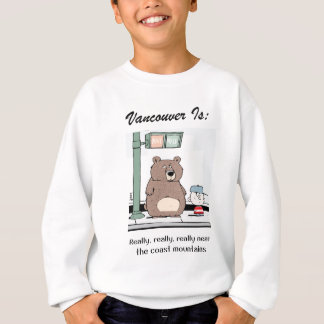 Vancouver Is: c - by harrop Sweatshirt