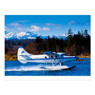 Vancouver Island Sea Plane Postcard