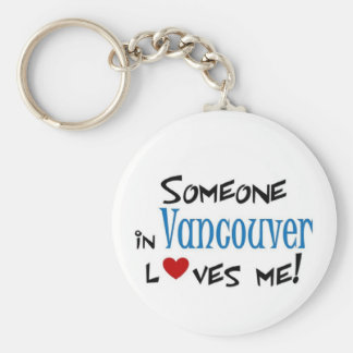Vancouver Love Key Ring