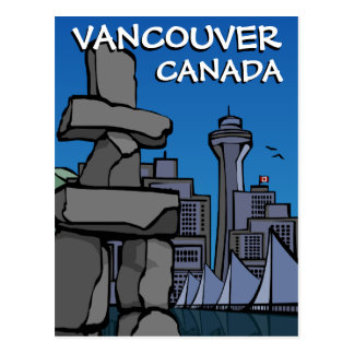 Vancouver Postcards Vancouver Landmark Cards