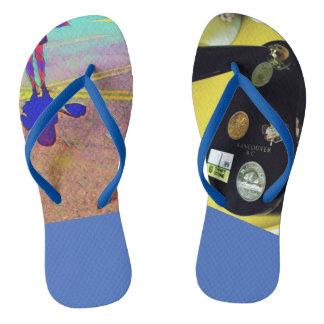 Vancouver Souvenier Fun Summer Flip Flops Travel