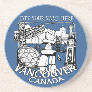 Vancouver Souvenir Coaster Personalized Gifts