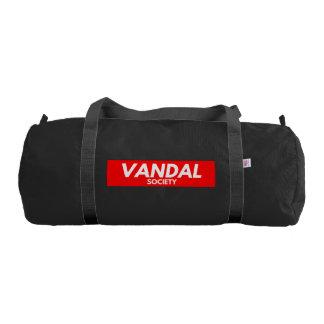 VANDAL SOCIETY DUFFLE BAG GYM DUFFEL BAG
