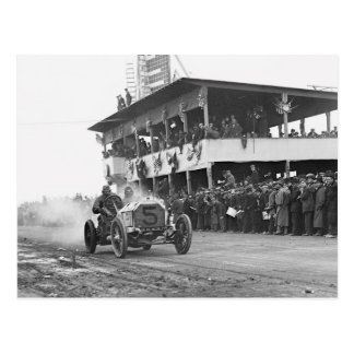 Vanderbilt Cup Auto Race, 1908 Postcard