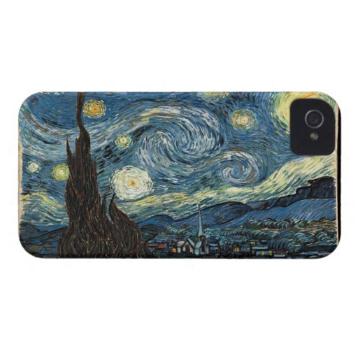 Vangogh Starry Night Blackberry Bold Case