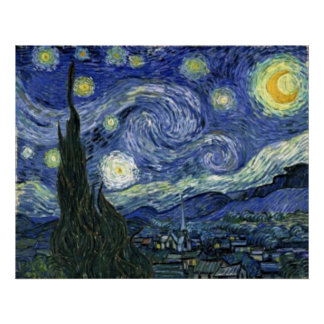 VanGogh Starry Night Poster