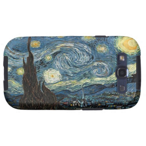 Vangogh Starry Night Samsung Galaxy S Case Galaxy S3 Cover