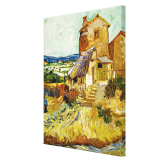 VanGogh - The Old Mill Canvas Print