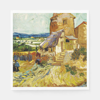 VanGogh - The Old Mill Paper Napkins