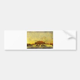 vangoghize_Forbidden-City Bumper Sticker