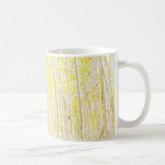 Vanilla Cake Aspen Trees Coffee Mug