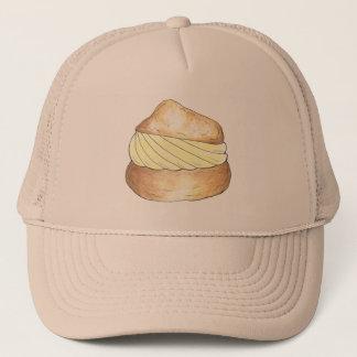 Vanilla Cream Puff Pastry Foodie Hat