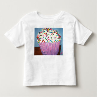 """Vanilla Cupcake With Sprinkles Toddler T-Shirt"