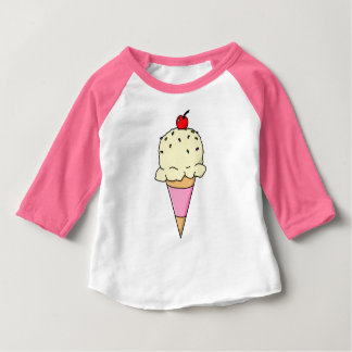 Vanilla Ice Cream Cone Baby T-Shirt