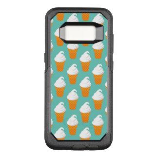 Vanilla Ice Cream Cone Pattern OtterBox Commuter Samsung Galaxy S8 Case