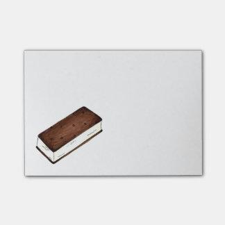 Vanilla Ice Cream Sandwich Foodie Post Its Post-it Notes