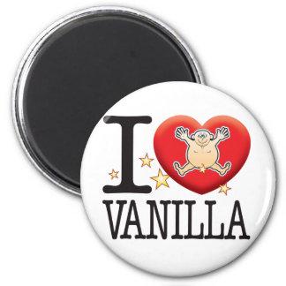 Vanilla Love Man 6 Cm Round Magnet