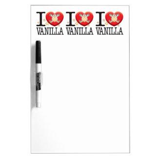 Vanilla Love Man Dry Erase Boards