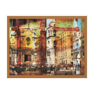 Vanishing Havana canvas art print