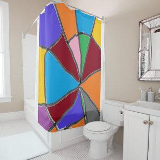 Vanishing Point Shower Curtain