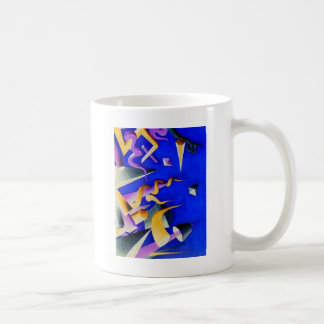 Vanishing Shapes II Coffee Mug