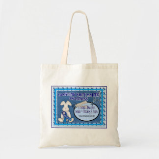 VANISHING WHITE MATTER _SOME-BUNNY I LOVE TOTE BAG