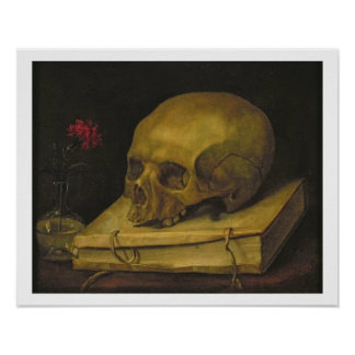 Vanitas, c.1644 (oil on canvas) poster