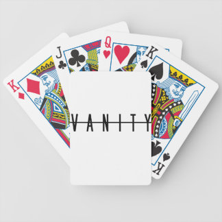 VANITY BICYCLE PLAYING CARDS