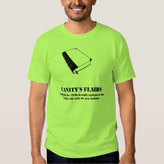 Vanity's Flairs - parody T Shirt