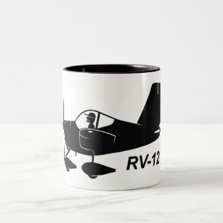 Vans RV-12 Caricature Two-Tone Coffee Mug