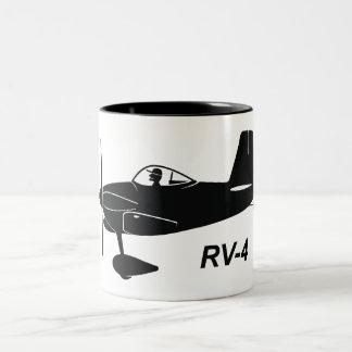 Vans RV-4 Caricature Two-Tone Coffee Mug