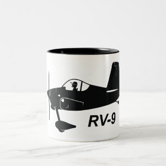 Vans RV-9 Caricature Two-Tone Coffee Mug