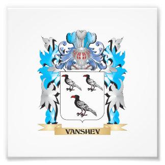 Vanshev Coat of Arms - Family Crest Art Photo