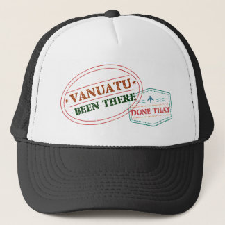 Vanuatu Been There Done That Trucker Hat