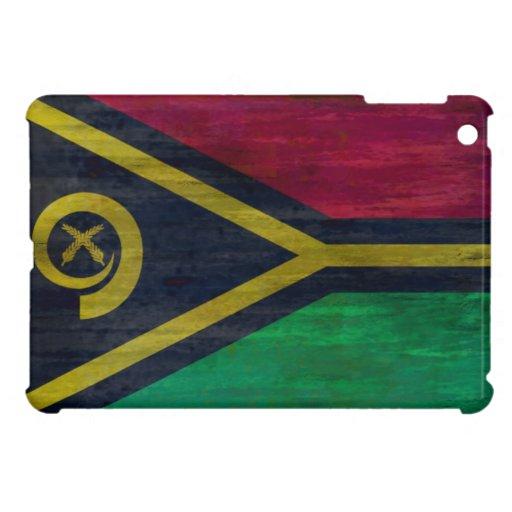Vanuatu distressed flag case for the iPad mini