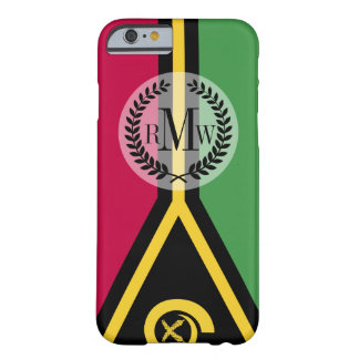 Vanuatu Flag Barely There iPhone 6 Case