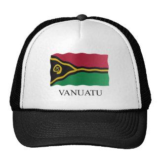 Vanuatu flag cap