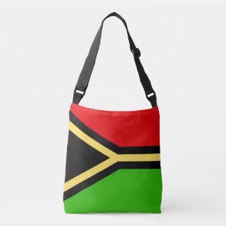 Vanuatu Flag Crossbody Bag