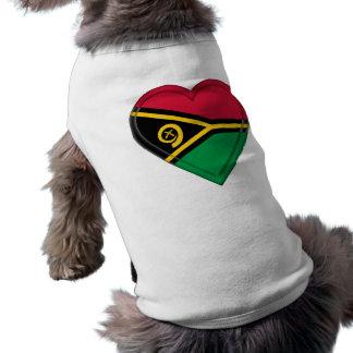 Vanuatu flag pet clothes