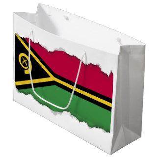 Vanuatu Flag Large Gift Bag